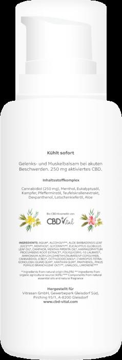 Vitrasan CBD Vital Arthro COOL - 100 ml