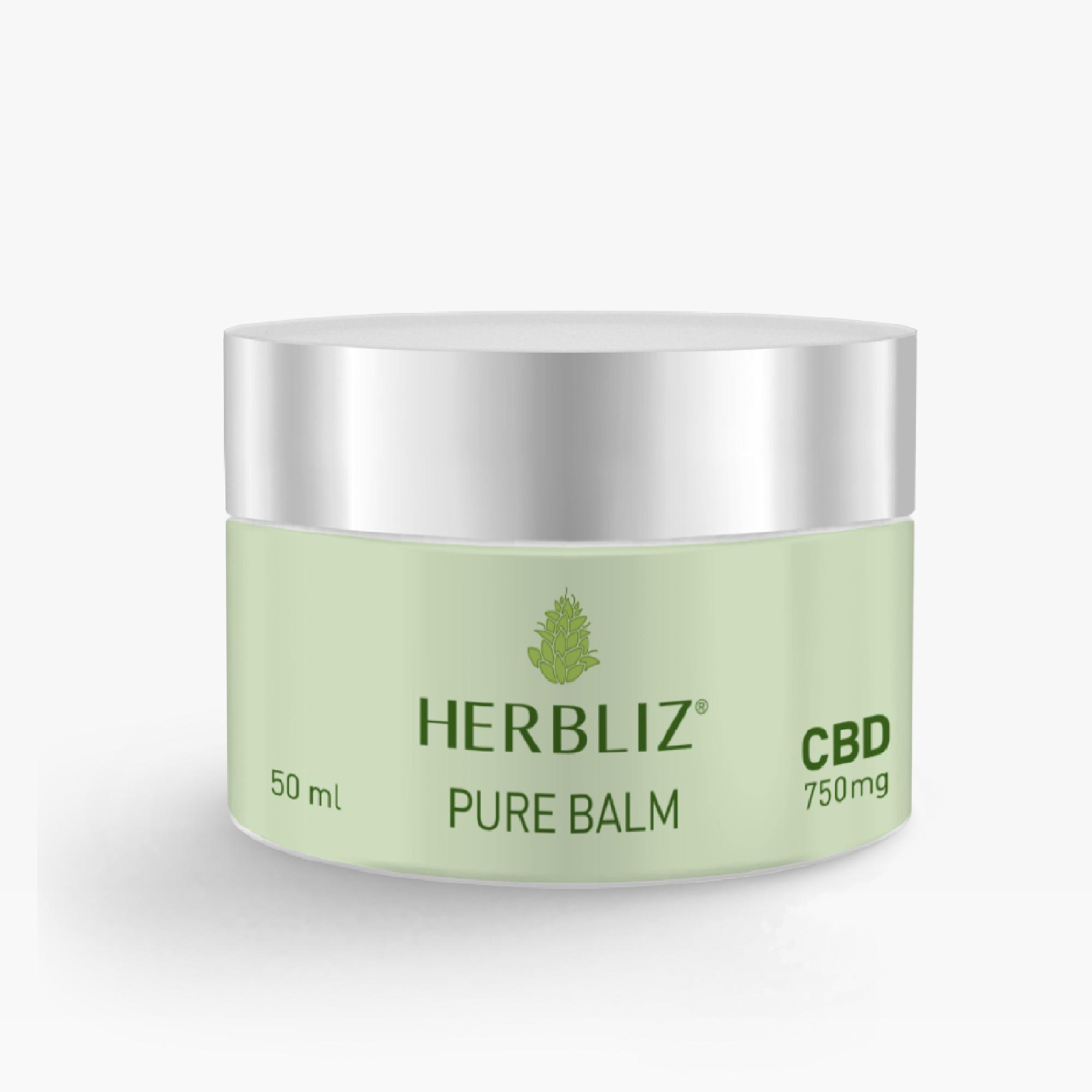 HERBLIZ CBD Pure Balm - 50 ml