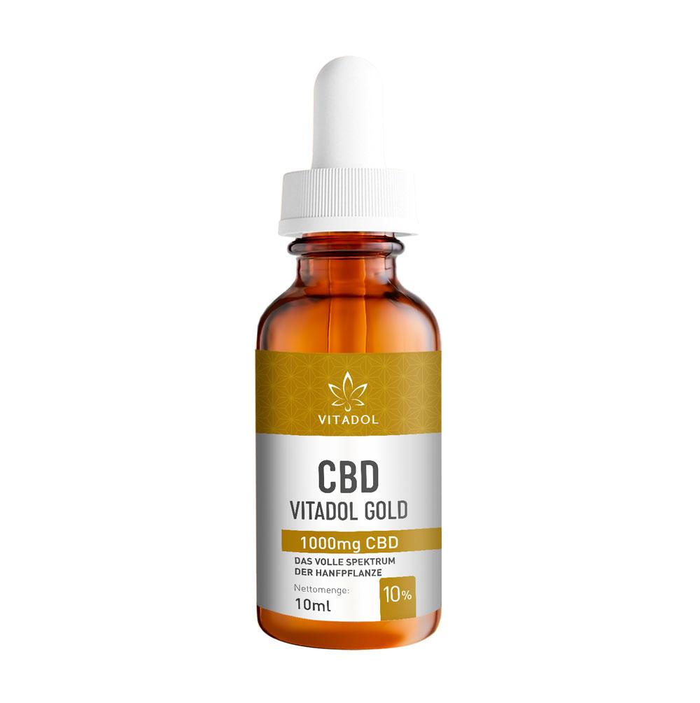 Vitadol Gold 10 % - Bio - Vegan – 10ml
