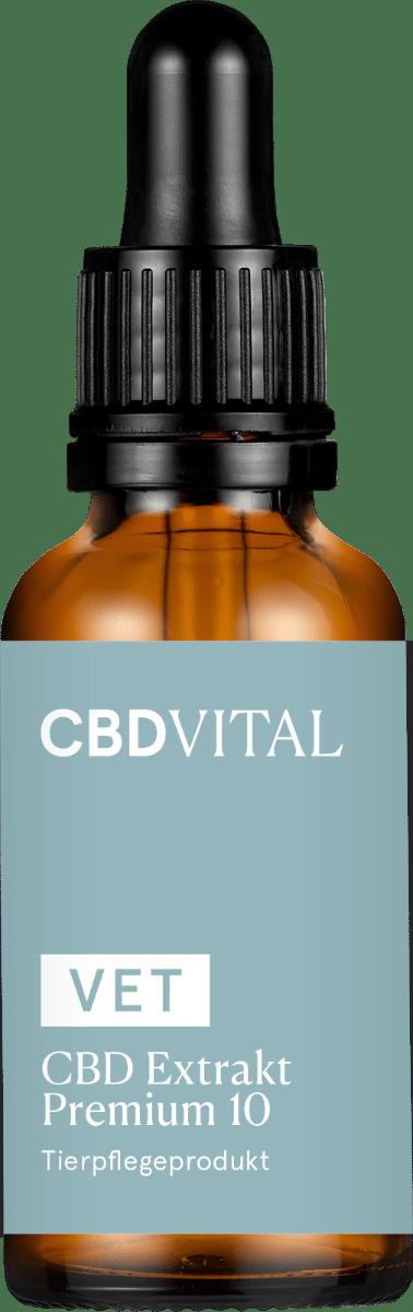 CBD VITAL VET Premium Extrakt 10 - 30ml