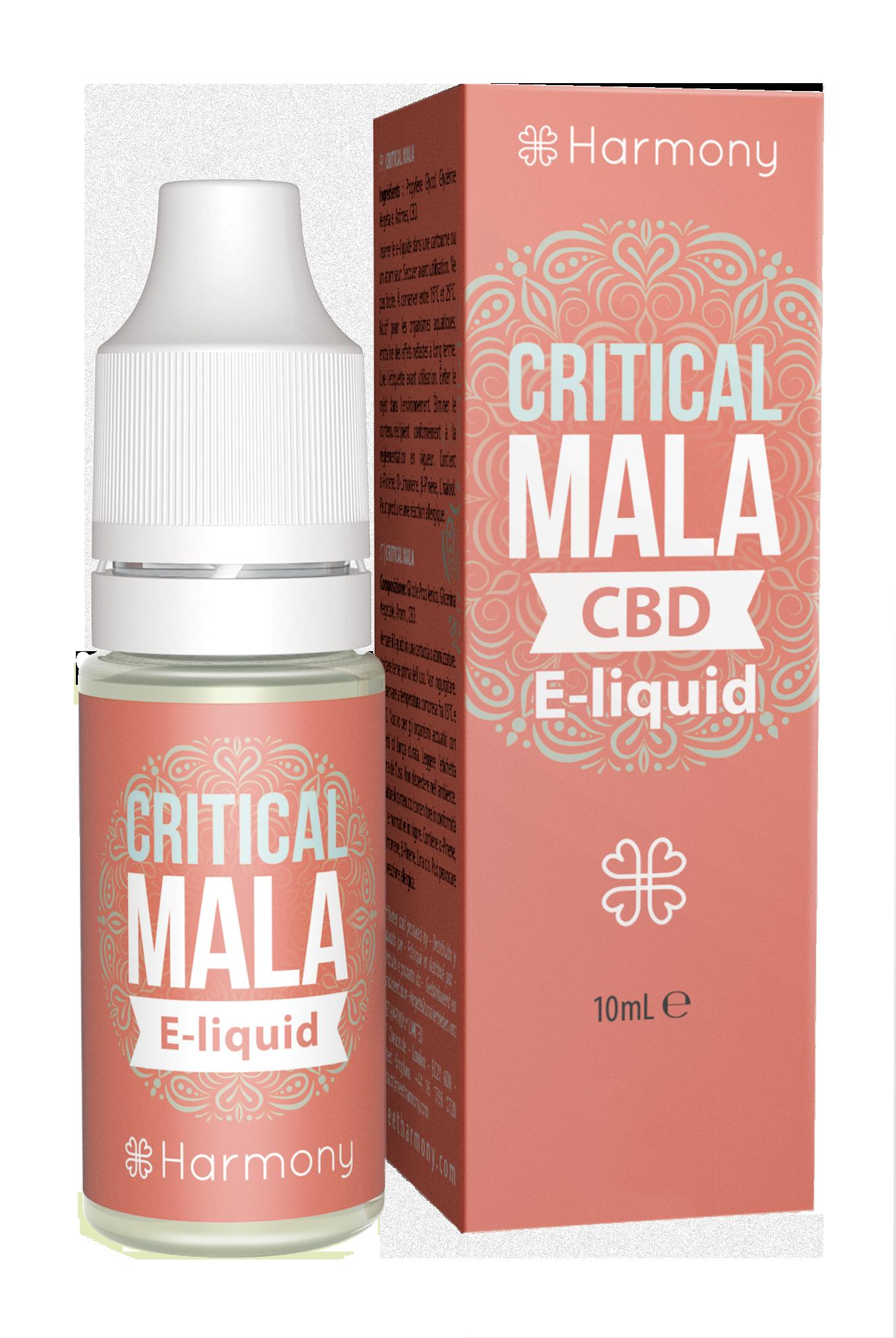 Harmony CBD E-Liquid - 30mg CBD - Geschmackssorte Critical Mala - 10ml
