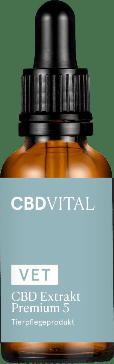 CBD VITAL VET Premium Extrakt 5 - 30ml
