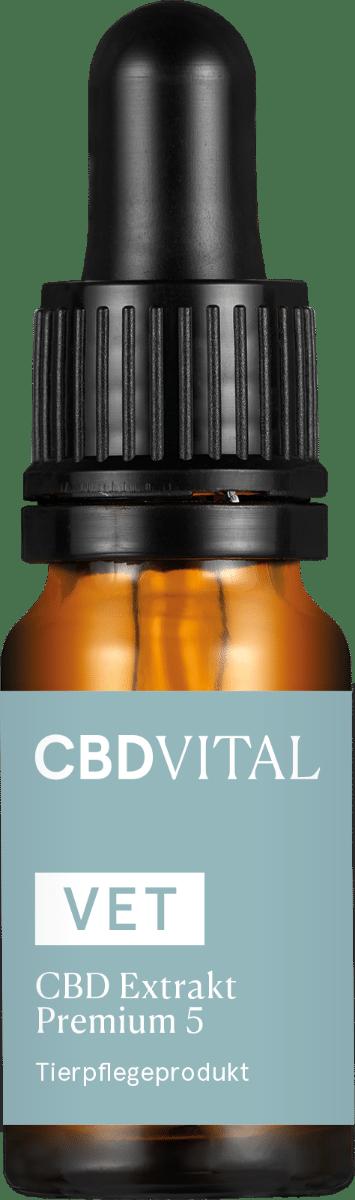CBD VITAL VET Premium Extrakt 5 - 10ml