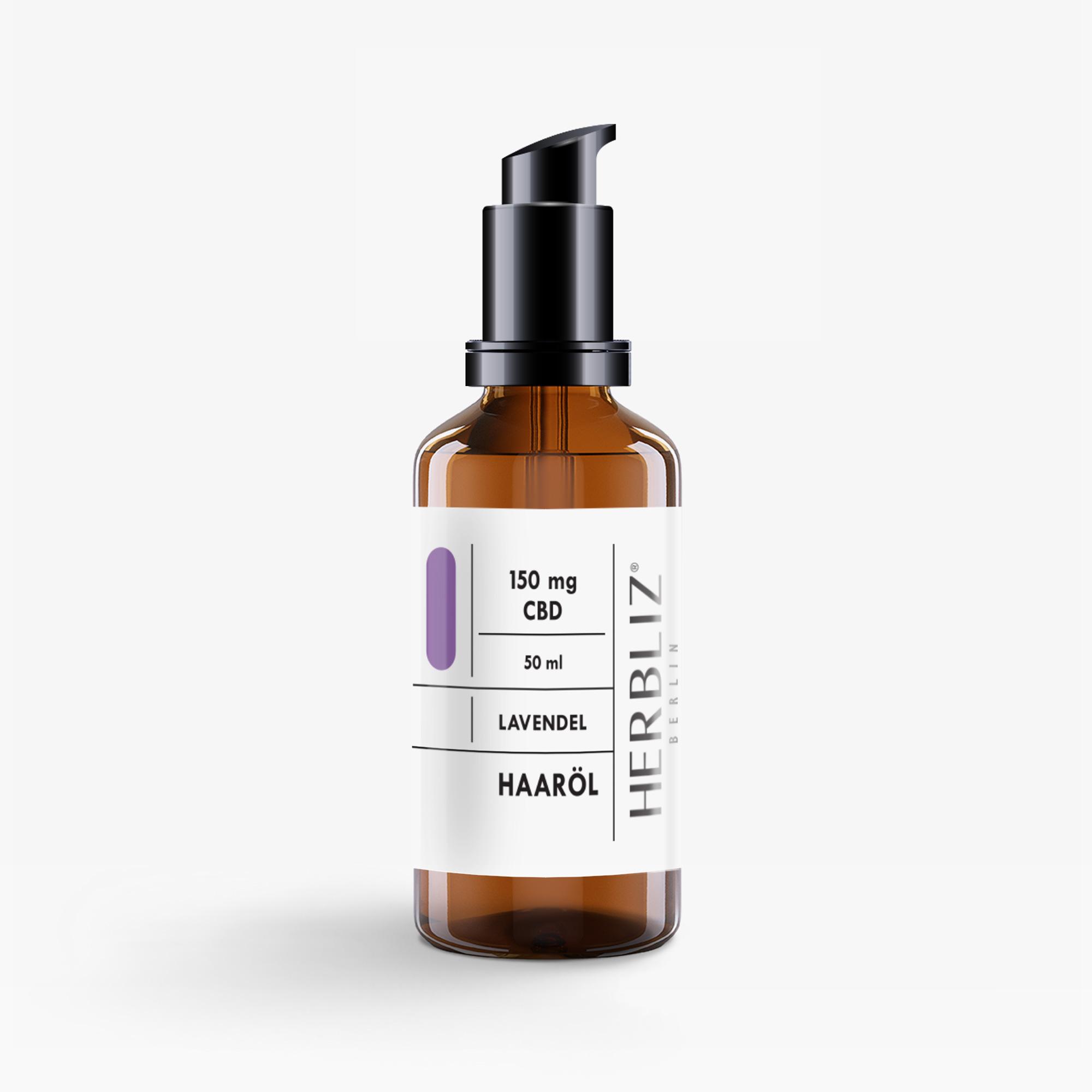 HERBLIZ CBD Haaröl - Lavendel - 50 ml