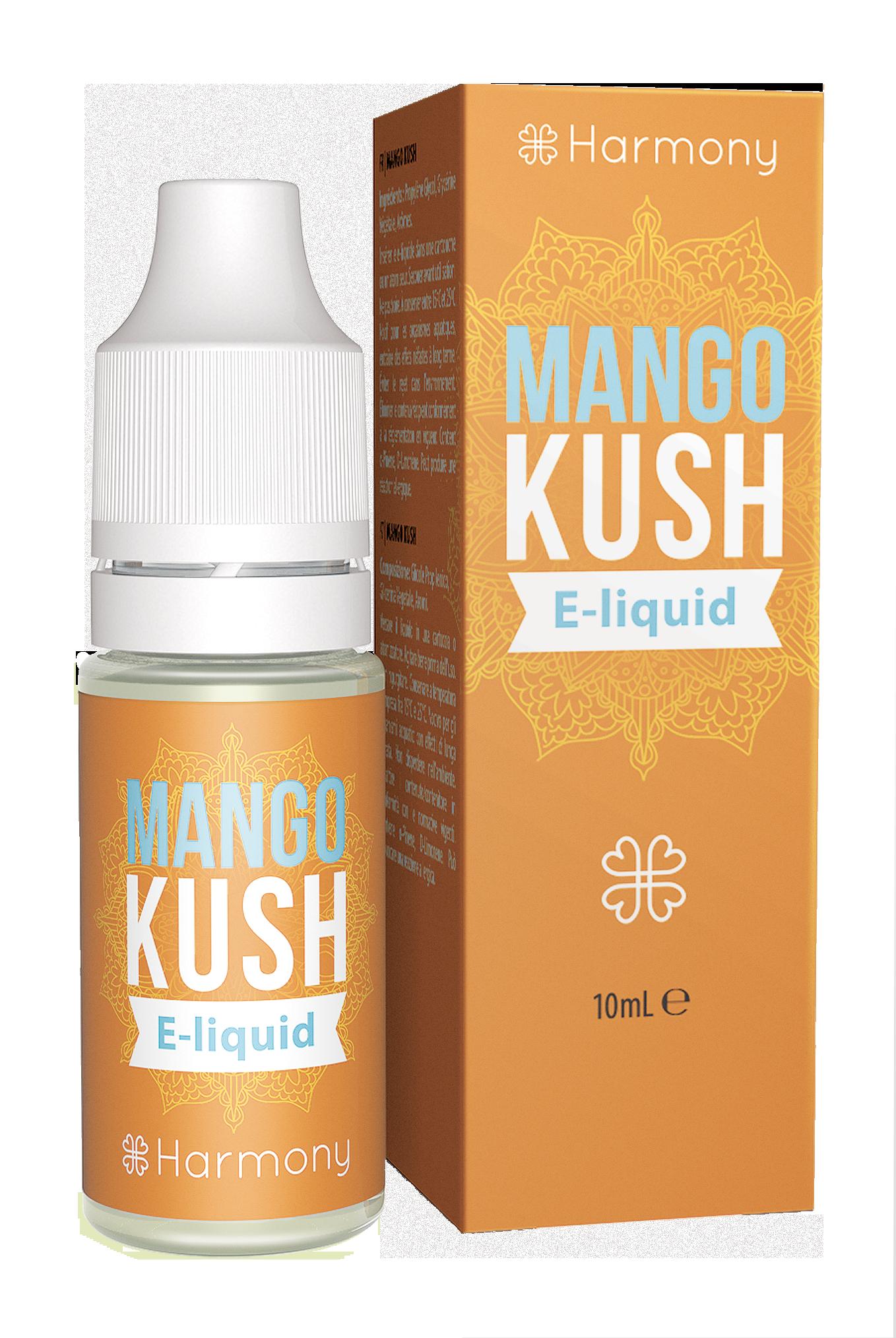 Harmony CBD E-Liquid - 30mg CBD - Geschmackssorte Mango Kush - 10ml